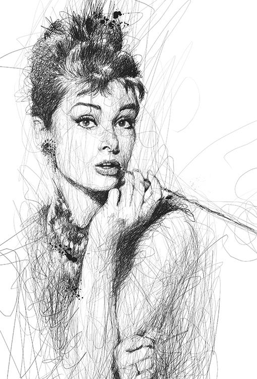 Tiffany sketch